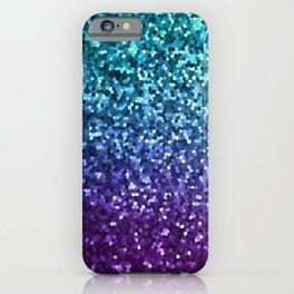 Mosaic Sparkley Texture G198 iPhone Case