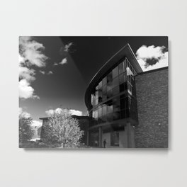 St Johns Collage in York, Yorkshire. Metal Print