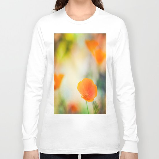 Poppy Rainbow Long Sleeve T-shirt
