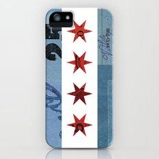 Ephemeral Chicago Flag Slim Case iPhone (5, 5s)
