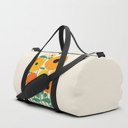 Sunflower and Bee Duffle Bag