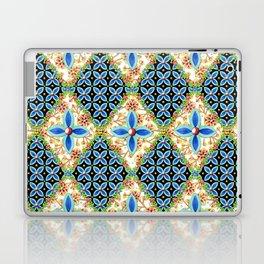 Elizabethan Folkloric Blossoms Laptop & iPad Skin
