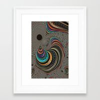 psychedelic art Framed Art Prints featuring psychedelic art by ACKelly