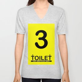 TOILET CLUB #3 Unisex V-Neck