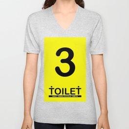 TOILET CLUB #3 Unisex V-Neck