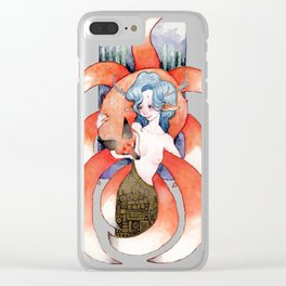 The Fox and the Doe Clear iPhone Case