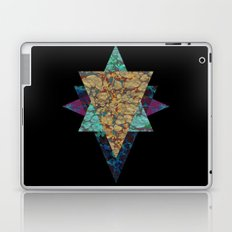 Marbled Gold Laptop & iPad Skin