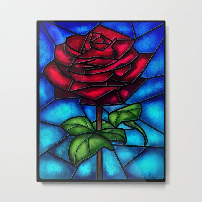 Eternal Rose. Metal Print