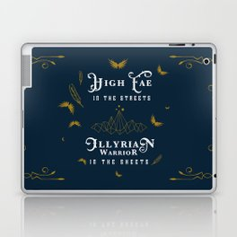 HIGH FAE IN THE STREETS Laptop & iPad Skin