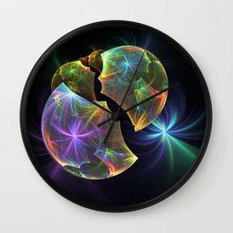 Fractal World Wall Clock