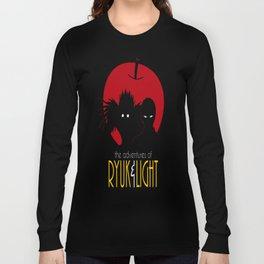 The Adventures of Ryuk _ Light Long Sleeve T-shirt