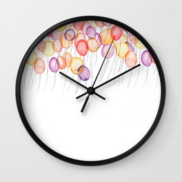 flying to the sky Wall Clock