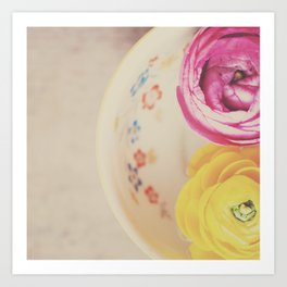 everyone needs a little cup of sunshine ... Art Print