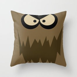 The Dirty Bubble Throw Pillow