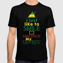 I just like to Smile - Buddy the Elf T-shirt