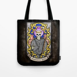 Necromancer Stained Glass Emblem Tote Bag