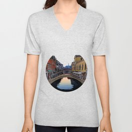 Venice, Italy Morning Unisex V-Neck