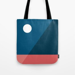 Geometric Landscape 06 Tote Bag