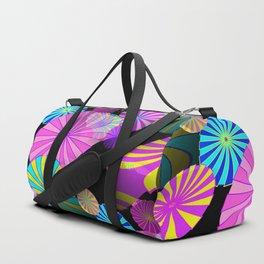 Floating Shapes Duffle Bag