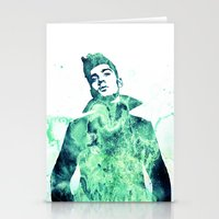 zayn malik Stationery Cards featuring Zayn Malik / One Direction by Justified