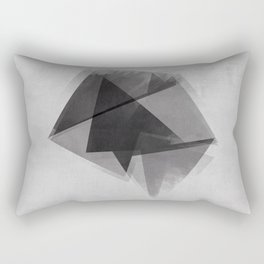Abstraction Process Rectangular Pillow