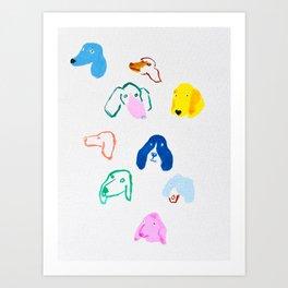 party pups Art Print