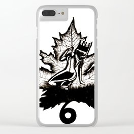 6QUEEN Clear iPhone Case