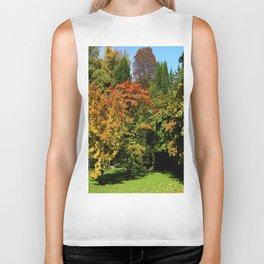 Autumn In The Arboretum Biker Tank