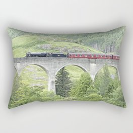 Express to Hogwarts Rectangular Pillow
