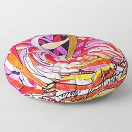 LUCHA DE PODER Floor Pillow
