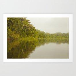 Lago Tres Chimbadas, Perú Art Print