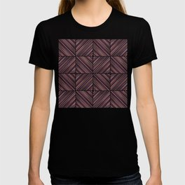 Herringbone Diamonds - Salmon T-shirt