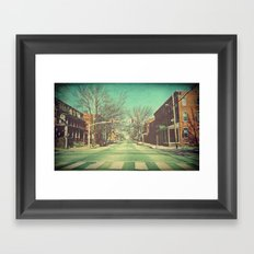 Let's Go Downtown Framed Art Print