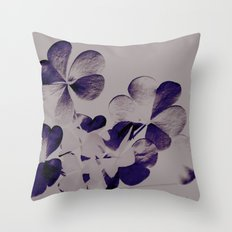Leaves of Three, Let it Be... Throw Pillow