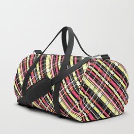 Striped pattern 12 Duffle Bag