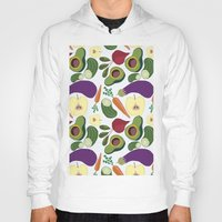 vegetables Hoodies featuring vegetables by Aina Bestard