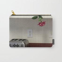 Toaster & Flower hanging out Carry-All Pouch