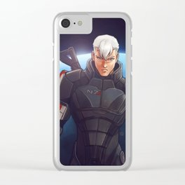 Commander Clear iPhone Case
