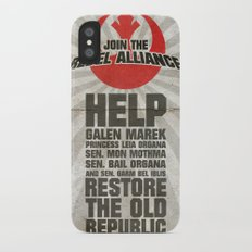 Join the Rebel Alliance Slim Case iPhone X