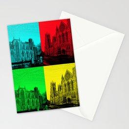 York Minster Pop Art Stationery Cards