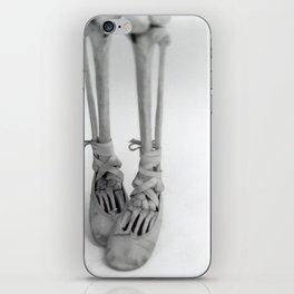 Skeleton Pointe iPhone Skin