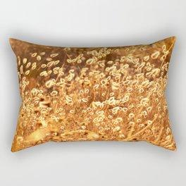 Golden bunny tails Rectangular Pillow