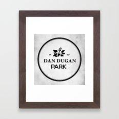 Dan Dugan Park Framed Art Print