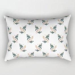 Pink Cockatoo Rectangular Pillow