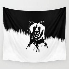 Bear Spirit Wall Tapestry