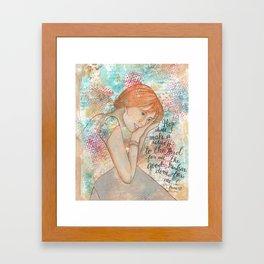Return by patsy paterno Framed Art Print