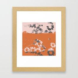 makenzie: ditsy florals Framed Art Print