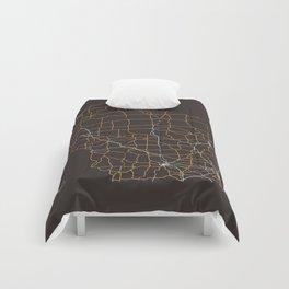 Wisconsin Highways Comforters