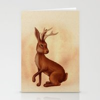 jackalope Stationery Cards featuring Jackalope by Sarah DC