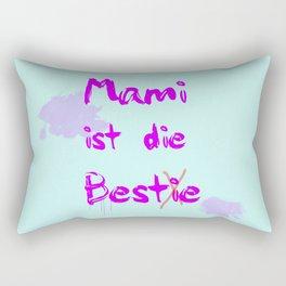 Mami ist die Bestie Rectangular Pillow